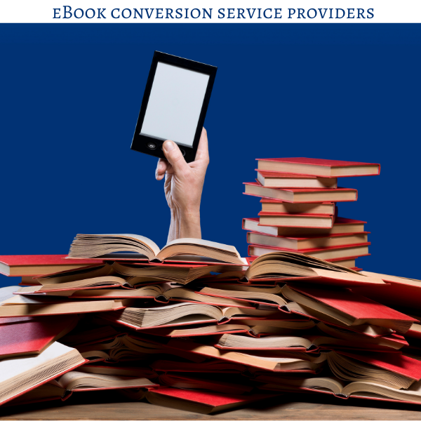 eBook conversion service providers