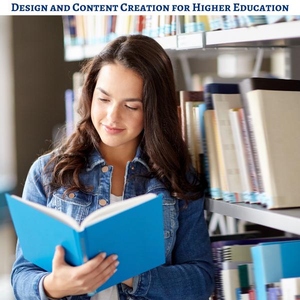 higher education content development