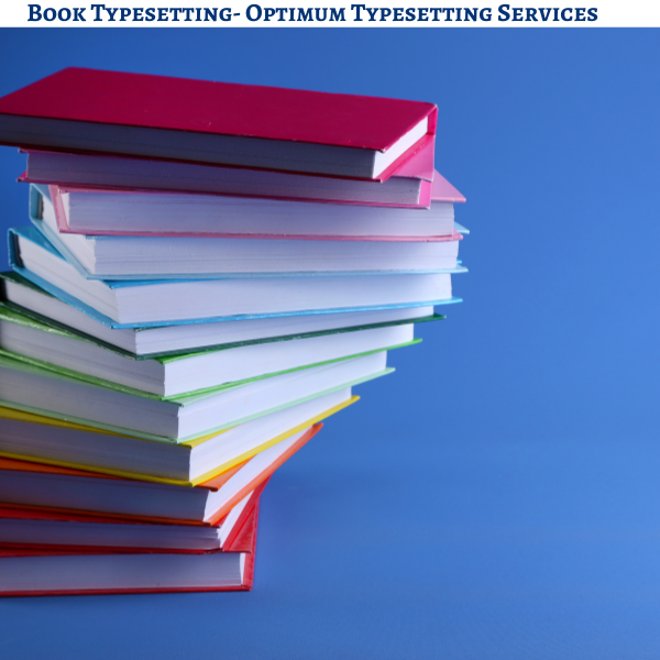 Book Typesetting Services