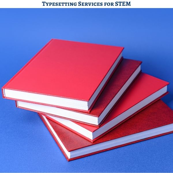 Typesetting Services for STEM